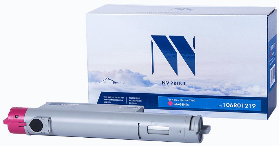 Картридж NV Print NV-106R01219, пурпурный, для лазерного принтера