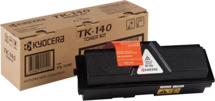 Картридж Kyocera TK-140, черный, для лазерного принтера тонер kyocera tk 140