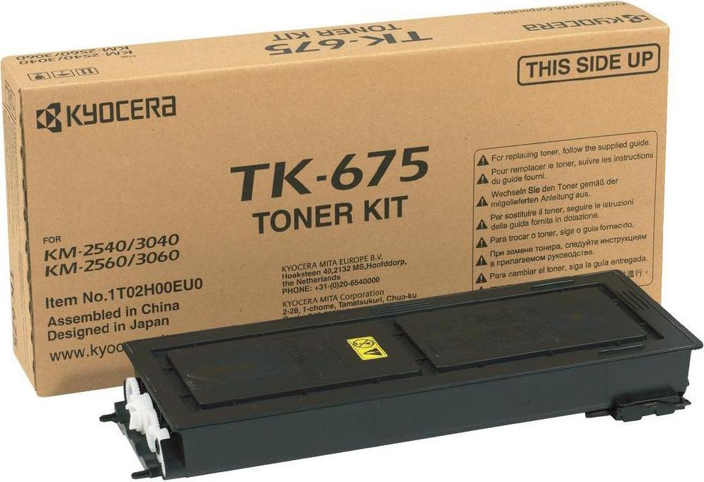 Картридж Kyocera TK-675, черный, для лазерного принтера все цены
