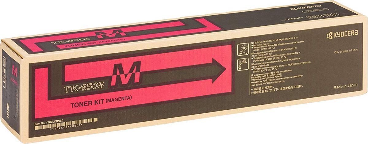 Картридж Kyocera TK-8505M, пурпурный, для лазерного принтера цена