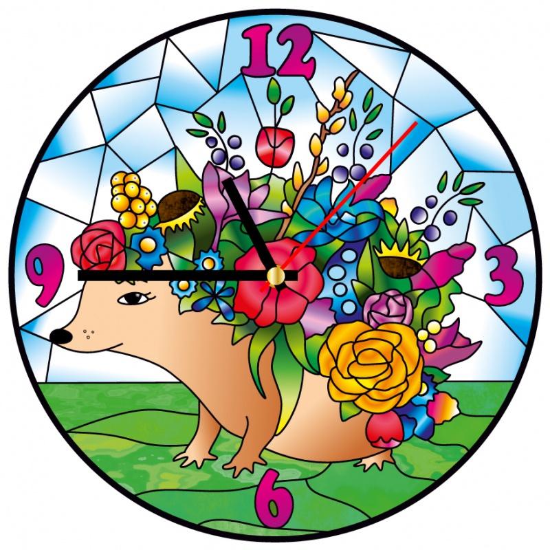 Набор для создания витража Color Kit Часы витражные, HV001 набор для создания витража color kit часы витражные hv002