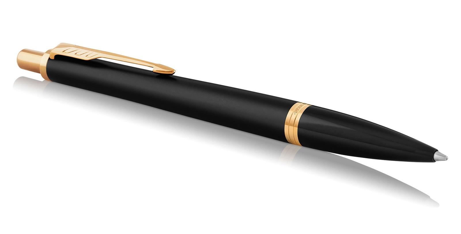 Ручка PARKER Urban Core Muted Black GT 1931576 parker ручка перьевая urban muted black gt черная