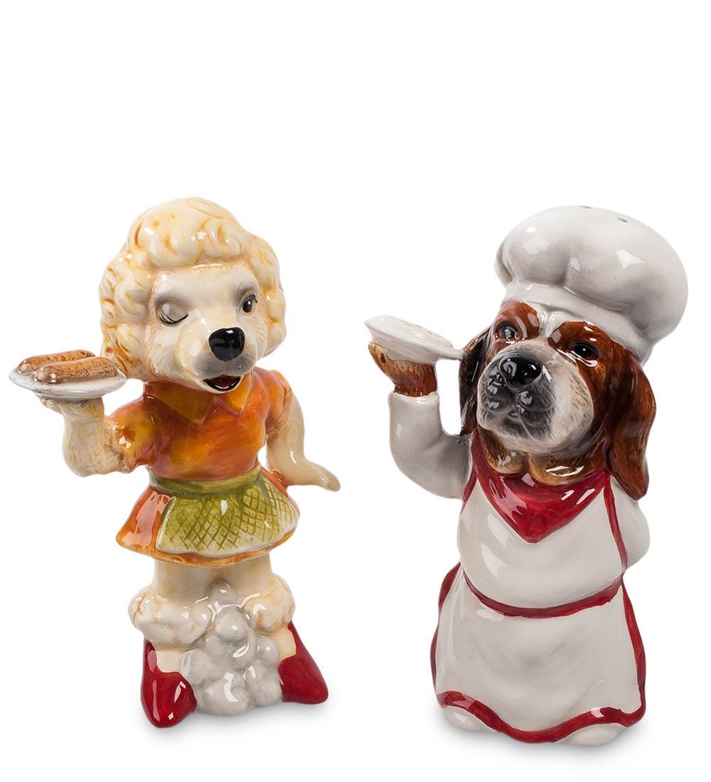 Набор для специй Pavone Поварята CMS-14/ 4, 103192 набор для специй pavone пара собак cms 14 26 107624