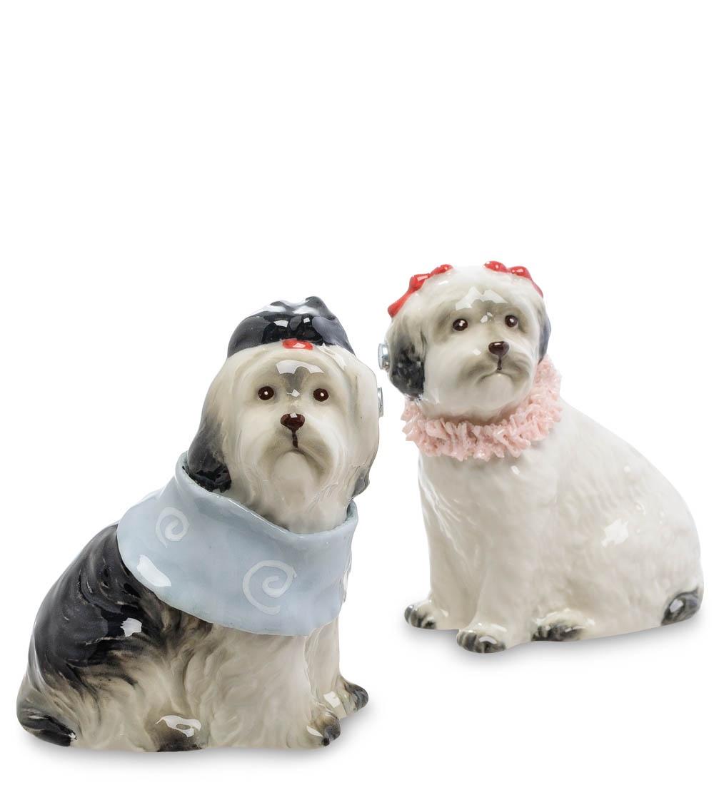 Набор для специй Pavone Пара собак CMS-14/23, 107621 набор для специй pavone пара собак cms 14 26 107624