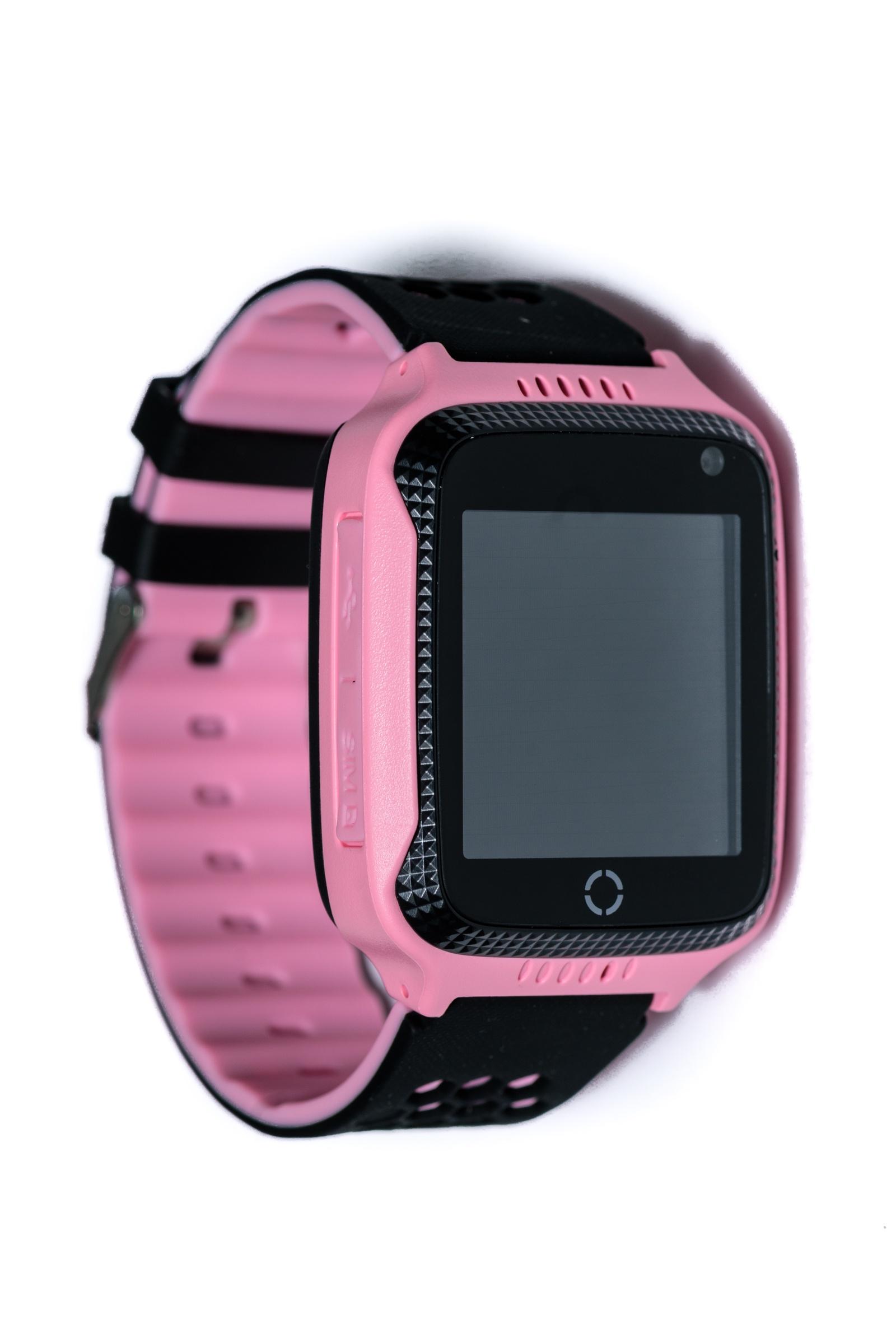 Умные часы для детей Indee D26C, розовый, черный настройка gps на htc