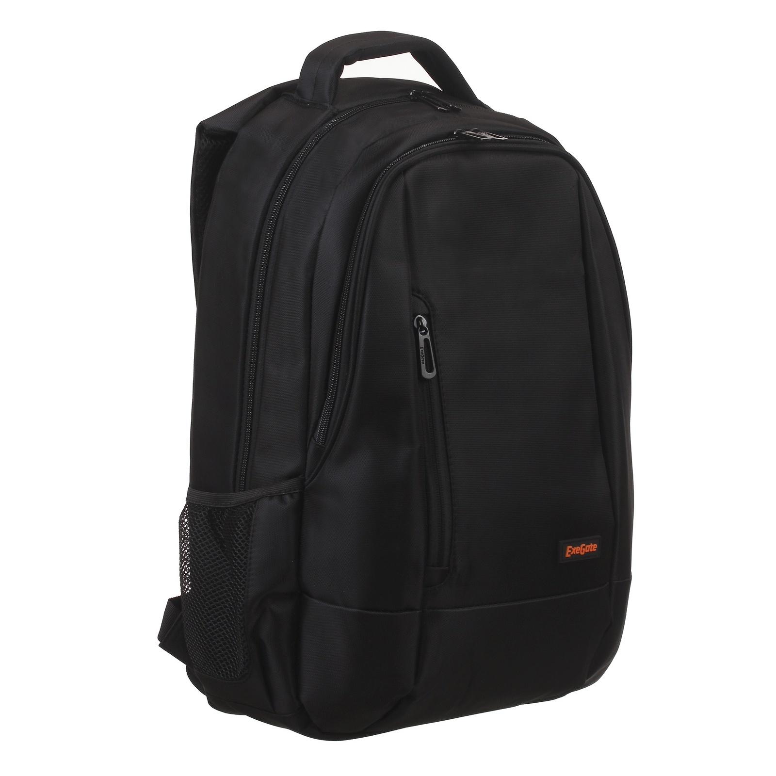 Рюкзак Exegate Office PRO B1597 Black, water resistant, черный, водоотталкивающий полиэстер, 15.6 аксессуар сумка 15 6 exegate office f1595 black