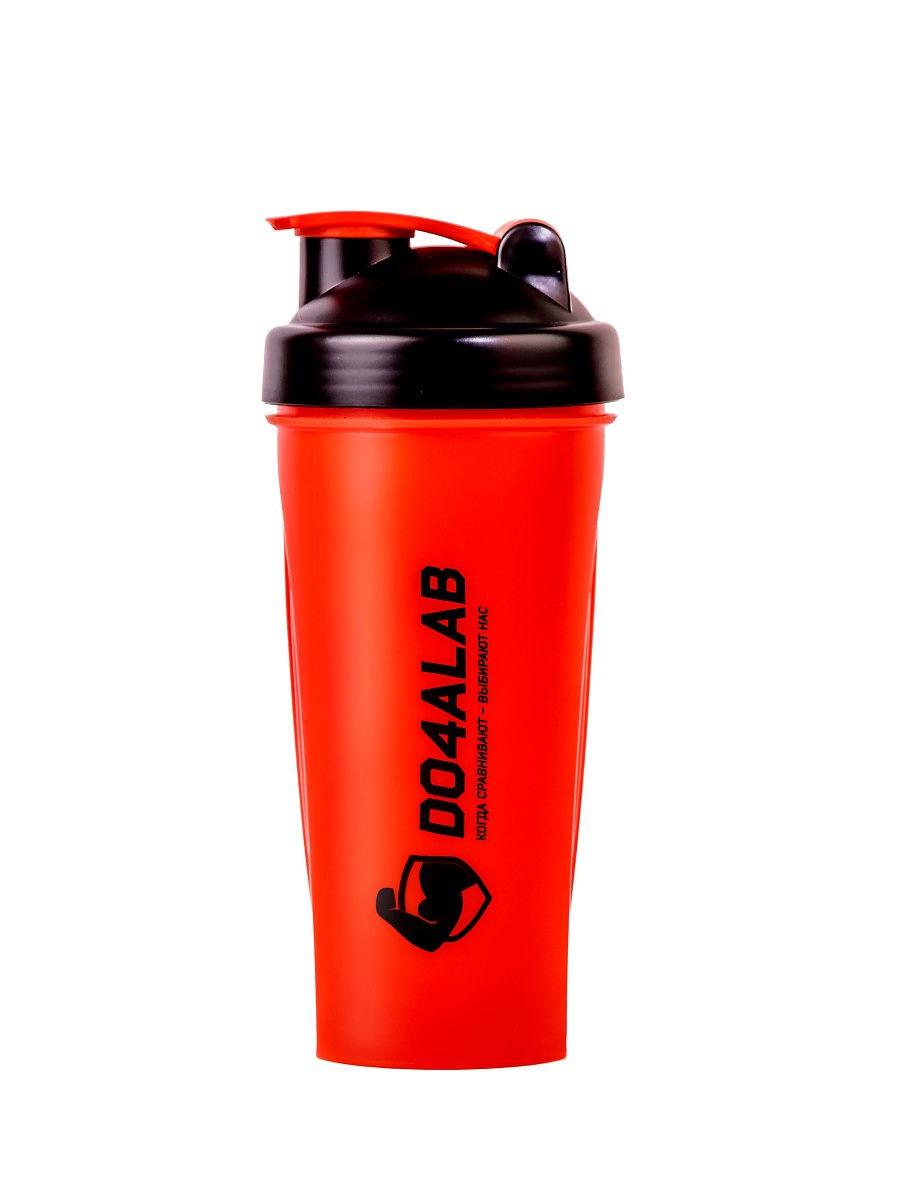Шейкер спортивный Do4a Lab DL0008, D4_TS1038/красный шейкер flamingo bay