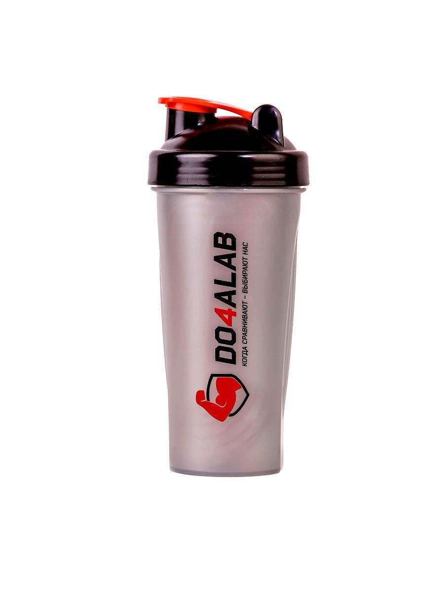 Шейкер спортивный Do4a Lab DL0008, D4_TS1038/серый