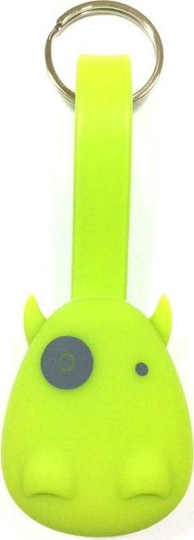 Брелок-шнур Munkees Дракон, для зарядки смартфона, цвет: зеленый