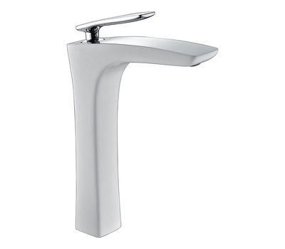 Смеситель Timo для умывальника Nordic, 4011/00-16F chrome white, серый вешалка timo хром 150011 00 chrome