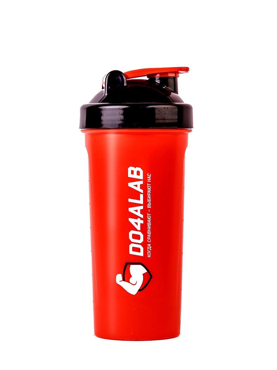 Шейкер спортивный Do4a Lab DL0004, D4_TS1234/красный шейкер flamingo bay