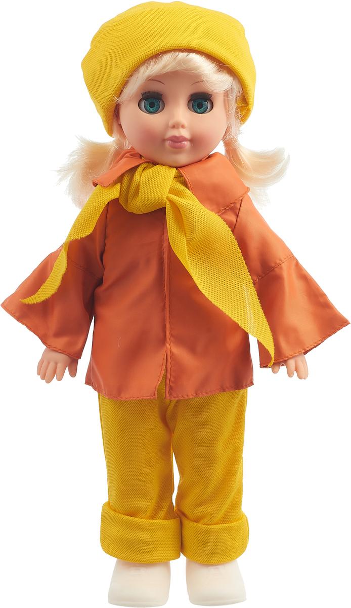 Весна Кукла Алла цвет одежды желтый оранжевый
