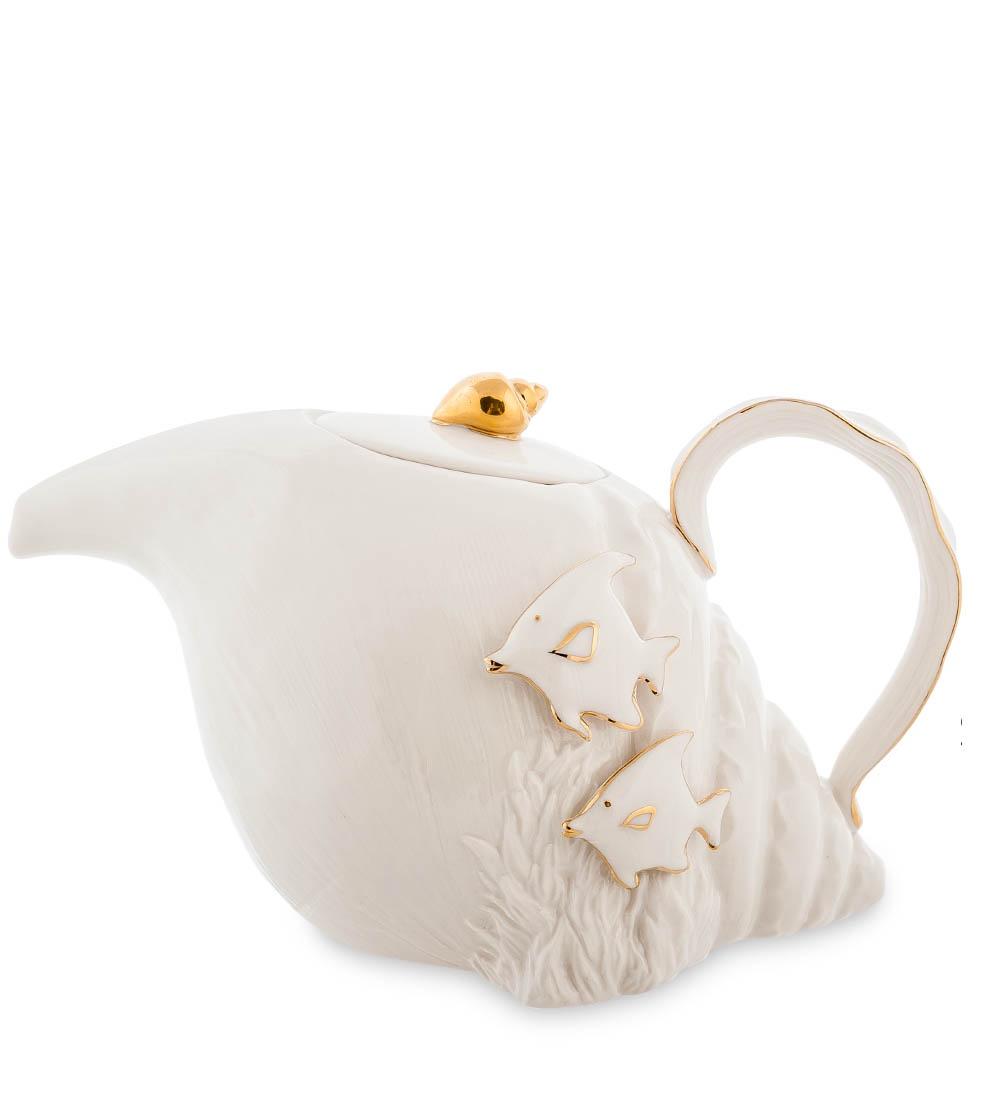 Чайник Гунфу Pavone Морская ракушка FM-34/ 2, 10873 fm 34 11 набор соусников морская ракушка pavone