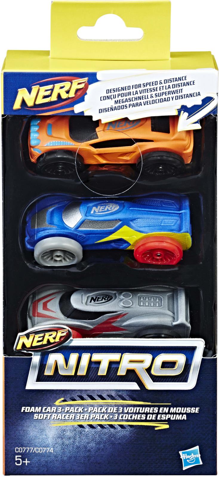 "Набор машинок Nerf ""Nitro"", C0774EU41_ С0774, 3 шт"