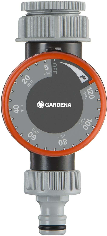 Таймер подачи воды Gardena, 01169-20.000.00, серый, оранжевый цена и фото
