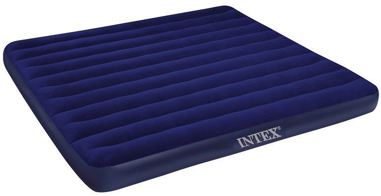 Матрас надувной INTEX CLASSIC DOWNY BED, 68758, синий