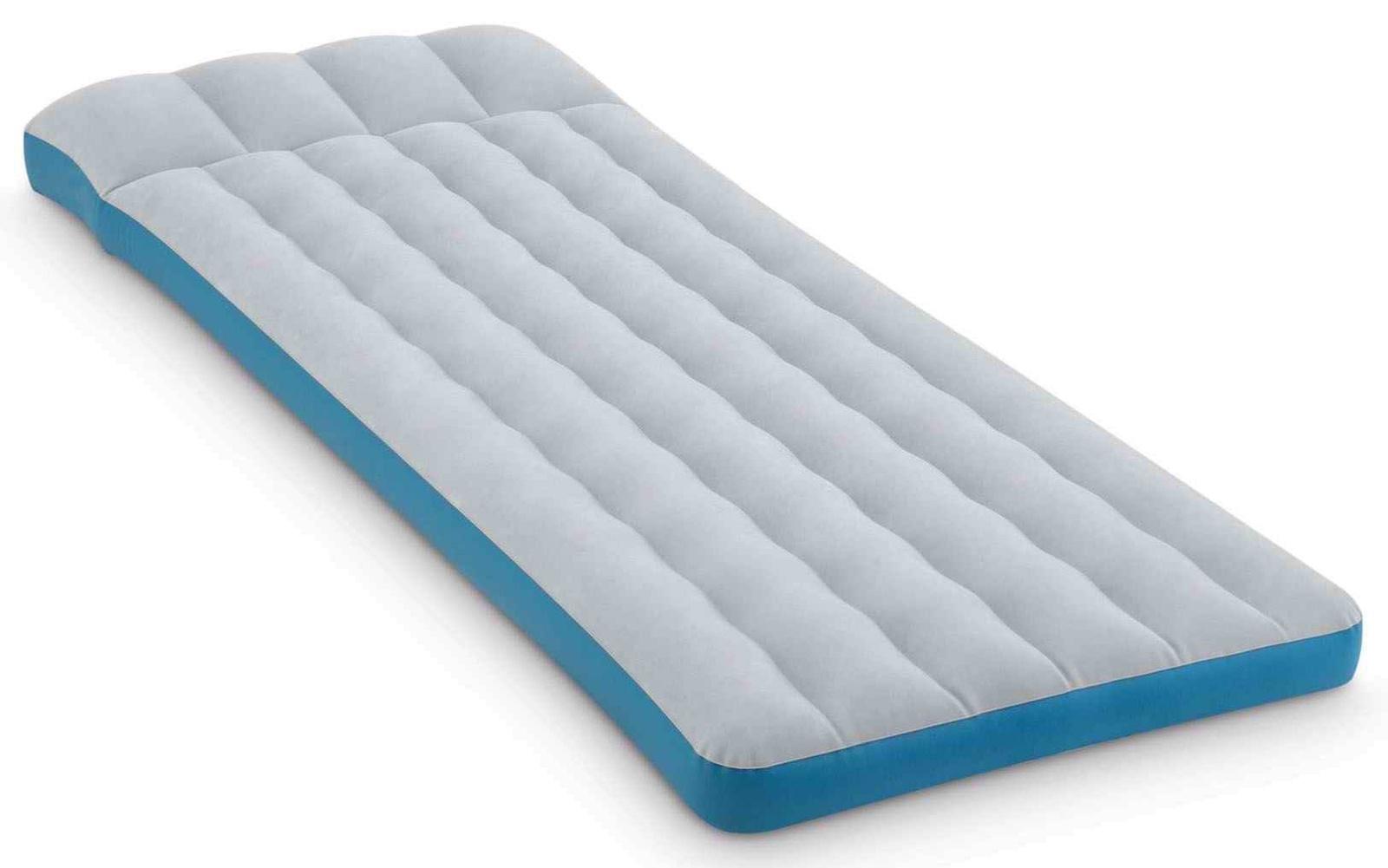 Матрас надувной INTEX CAMPING MAT, 67998, серый, синий