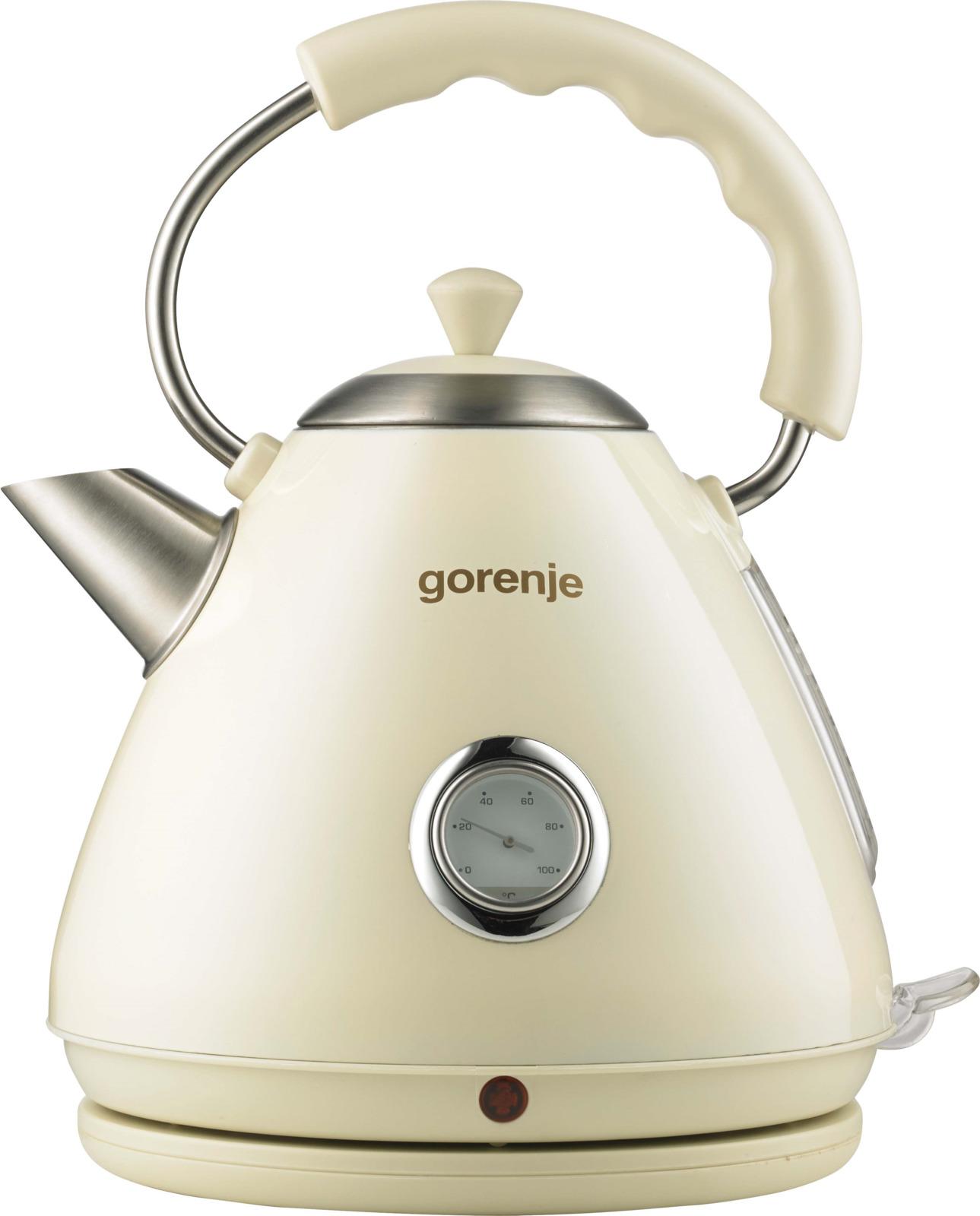 Электрический чайник Gorenje K17CLI, 577531, бежевый, 1,7 л