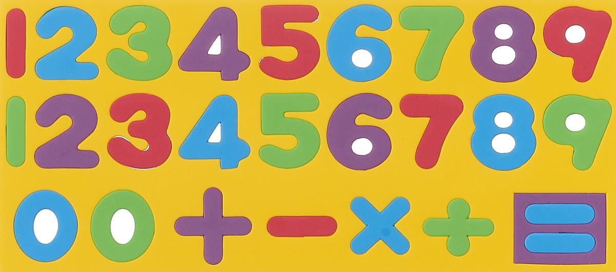 Обучающая игра Kribly Boo Набор цифр и знаков, 47076, желтый
