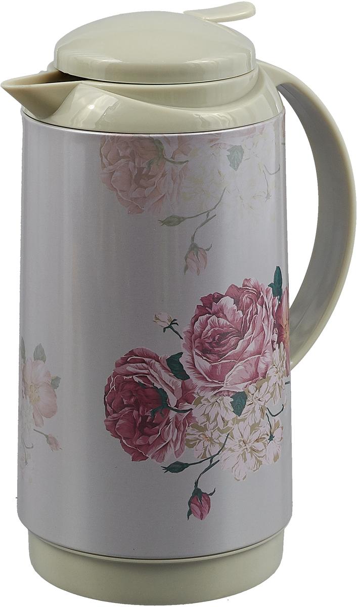 Термос Mayer & Boch, 28569, белый, розовый , 1 л термос mayer