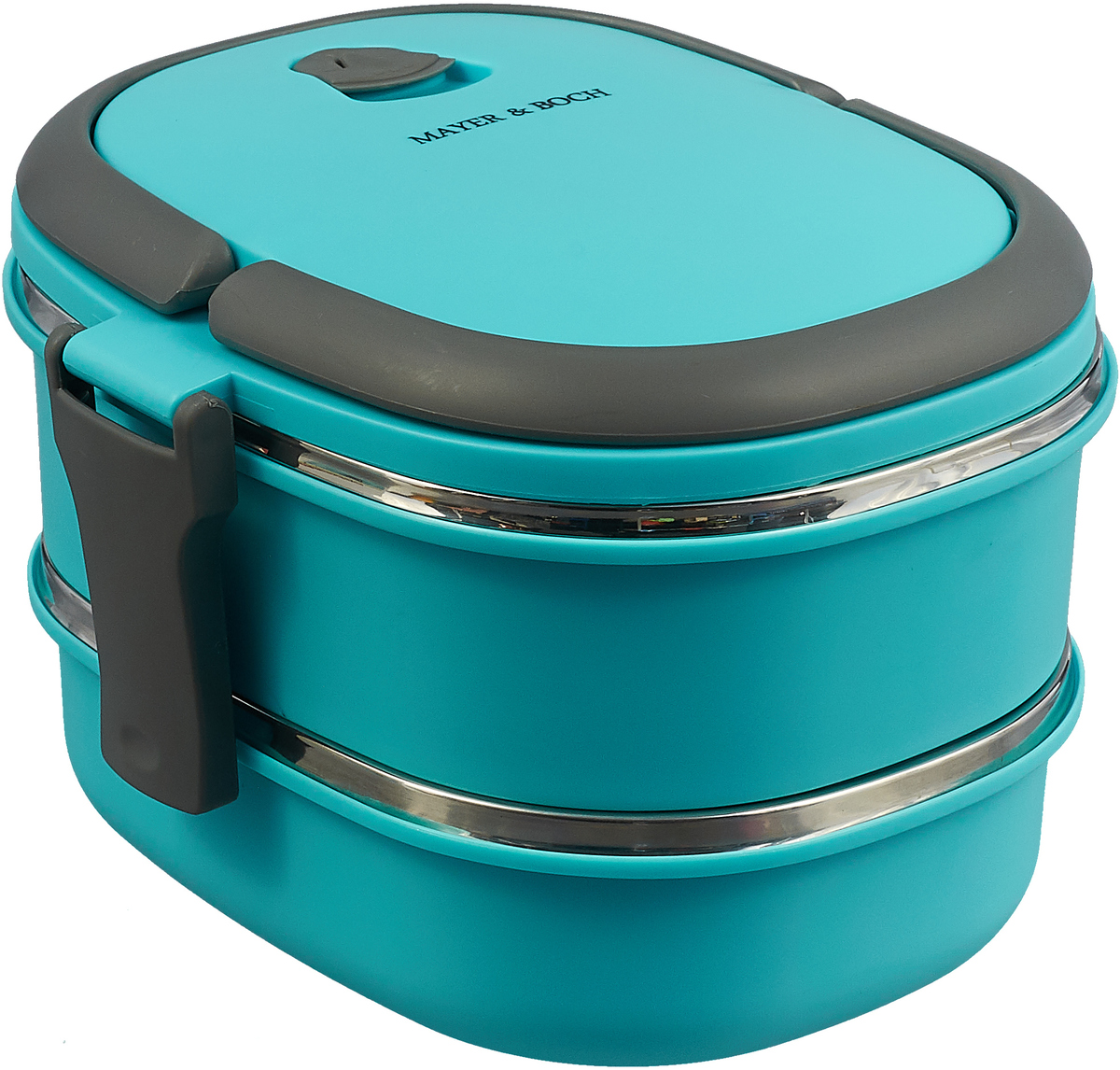 Термос Mayer & Boch, 28779, голубой, 1,7 л термос пищевой mayer