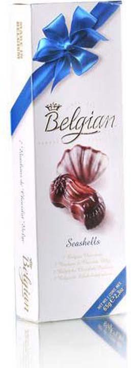 Набор шоколадных конфет The Belgian Дары моря, 65 г набор шоколадных конфет the belgian 200 г