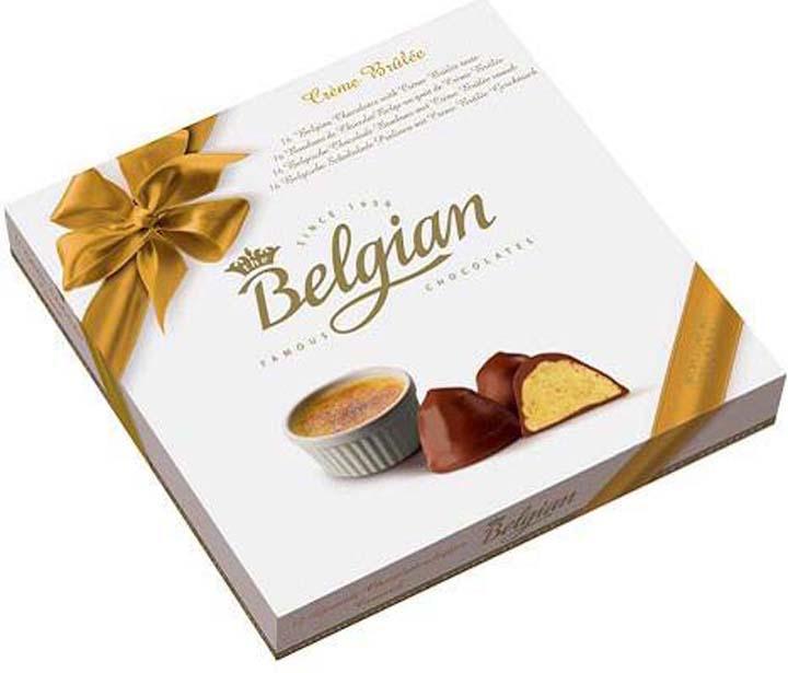 Набор шоколадных конфет The Belgian Крем-Брюле, 200 г набор шоколадных конфет the belgian 200 г