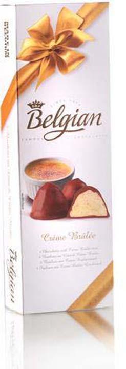 Набор шоколадных конфет The Belgian Крем-Брюле, 50 г набор шоколадных конфет the belgian 200 г