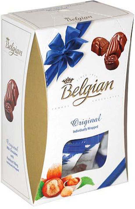 Набор шоколадных конфет The Belgian Дары моря с ореховой начинкой, 135 г набор шоколадных конфет the belgian 200 г