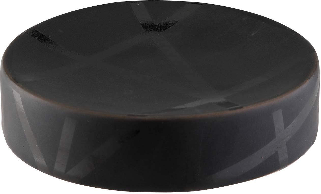 Фото - Мыльница Axentia Nero, 131057, черный мыльница axentia escala сталь хром