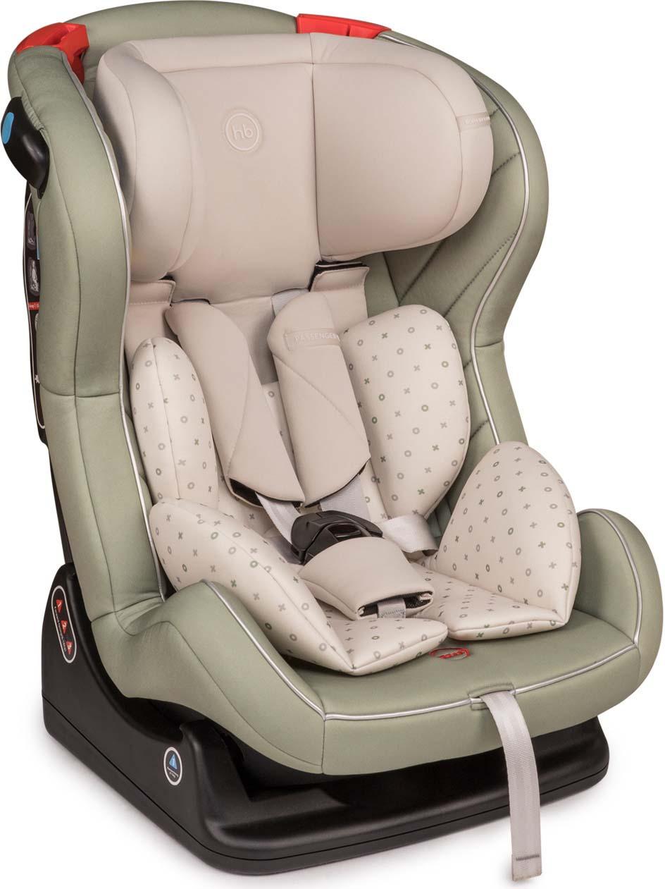 Автокресло Happy Baby Passenger V2, 0-25 кг, 4690624026263, зеленый