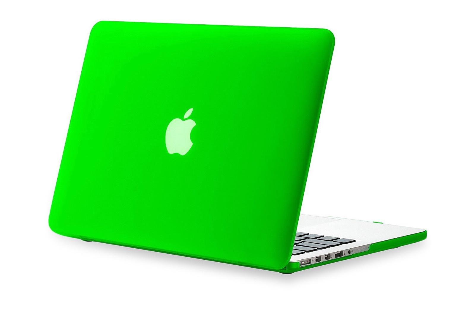 """Чехол для ноутбука Gurdini пластик матовый 900127 для MacBook 12"""", светло-зеленый"""