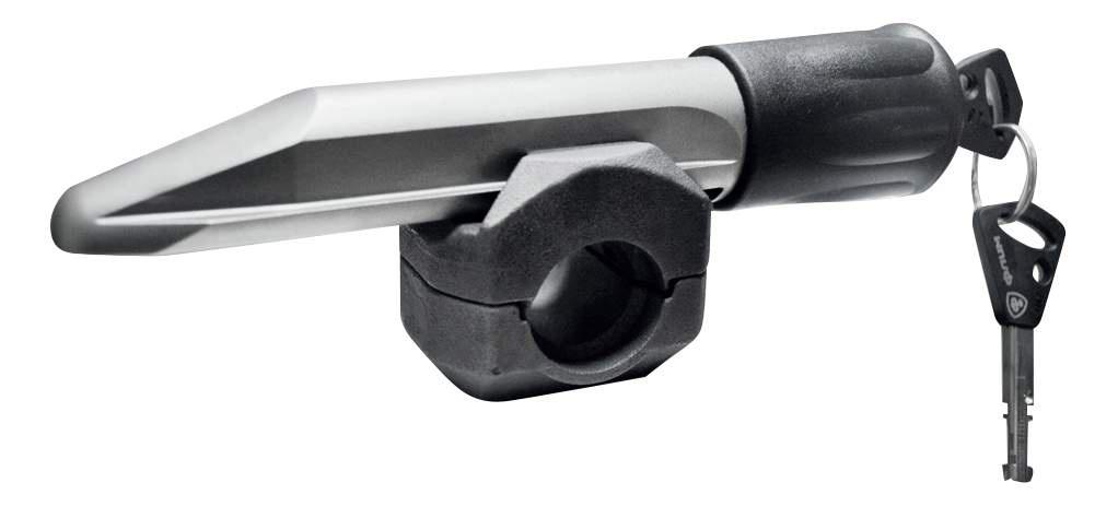Противоугонное устройство Гарант Блок Люкс 320.E/f на рулевой вал для HYUNDAI (CRETA, ACCENT), AUDI (A4, A6)