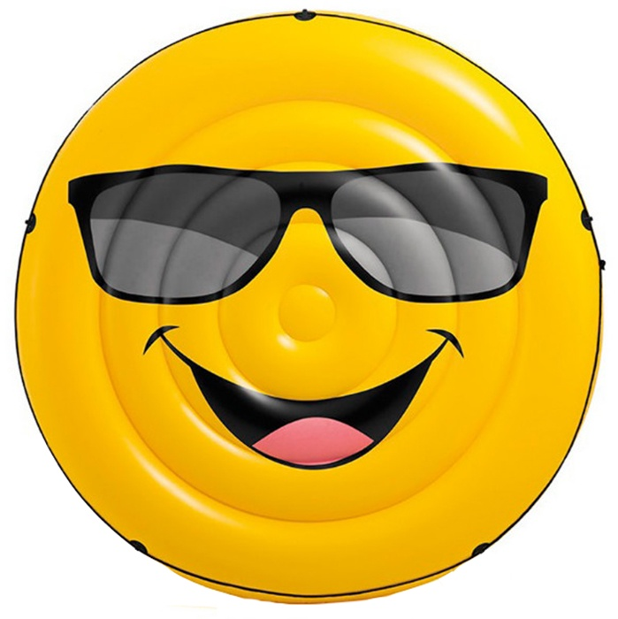 Матрас надувной для плавания Intex Клёвый парень, 57254, желтый
