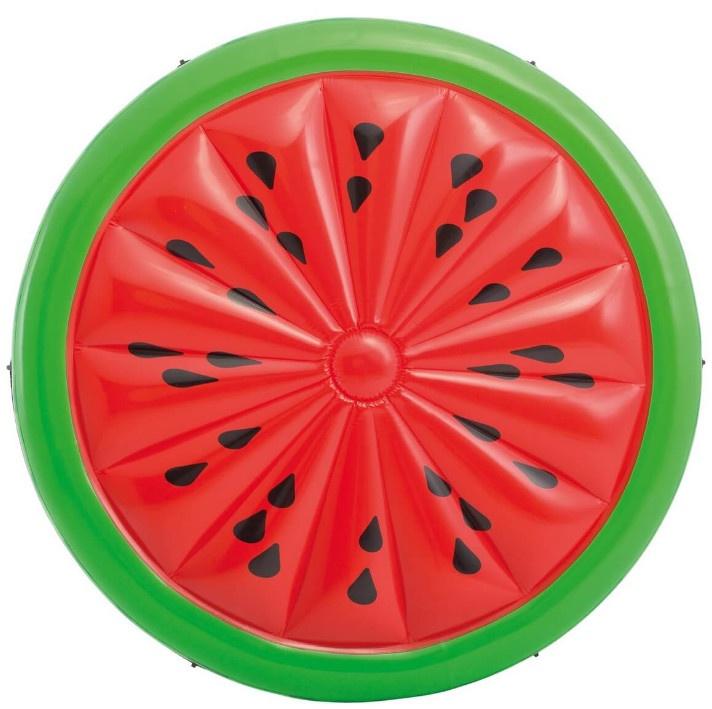 Матрас надувной для плавания Intex Арбуз, 56283, красный