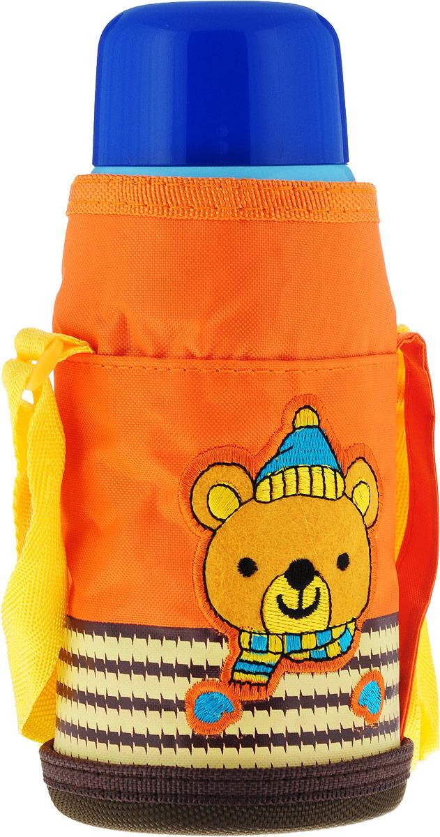 Термос детский Mayer & Boch, 28048, голубой, синий, оранжевый, 0,58 л