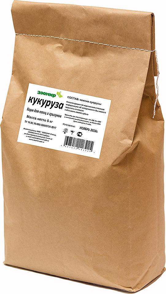 """Корм сухой Зоомир """"Кукуруза"""", 5 кг"""