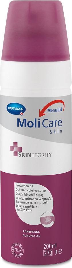 Масло косметическое Пауль Хартманн MoliCare Skin защитное, спрей, 200 мл хартманн термометр электрон termoval basic клинич 1
