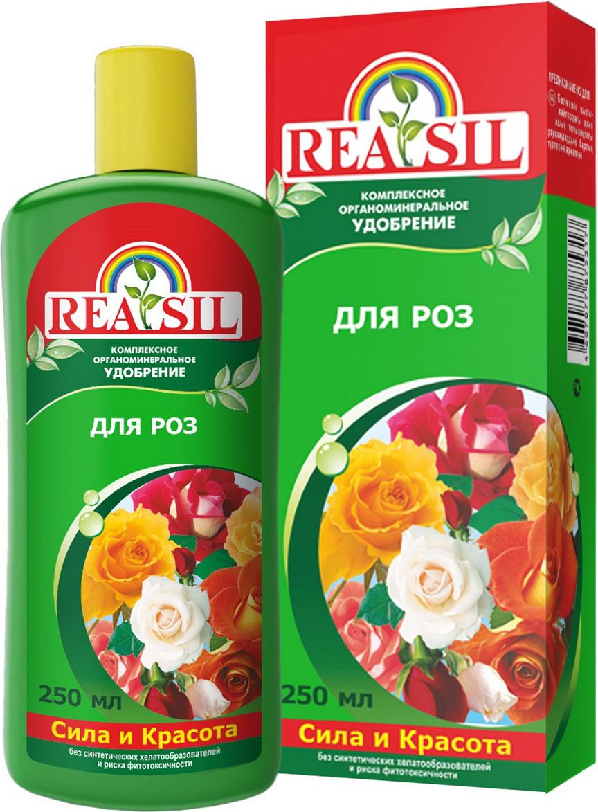 Удобрение Reasil комплексное органическое для роз, 4607077875317, 250 мл удобрение florizel гелеобразное органическое биогумус для роз 350мл
