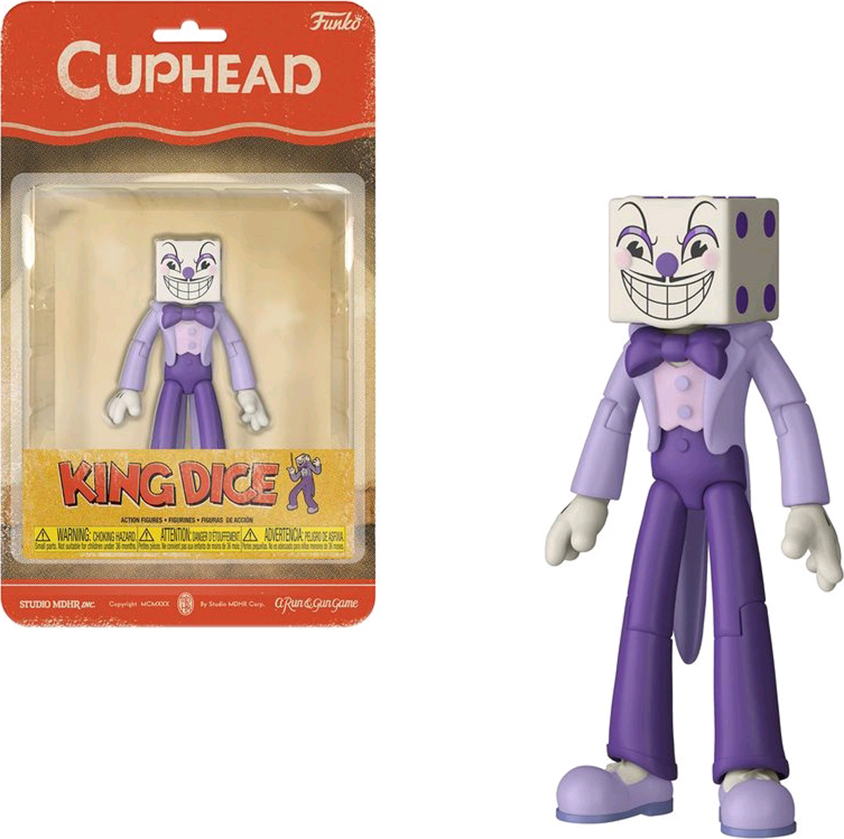 Фото - Фигурка Funko Action Figures: Cuphead: King Dice 33422 мягкая игрушка cuphead cuphead