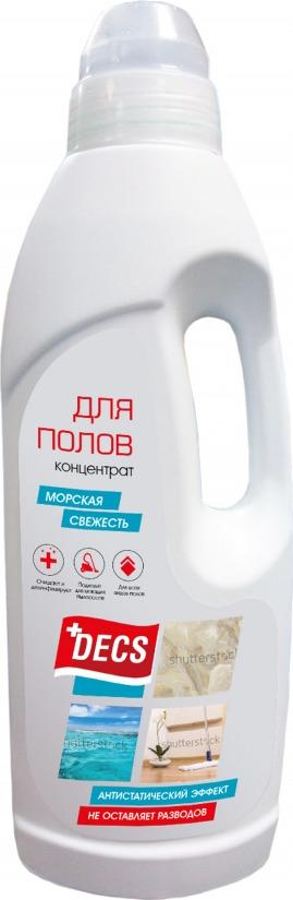 Средство для мытья полов DECS Bleach Морская свежесть, 23280, 1 л organic people эко гель для мытья всех видов полов 500мл