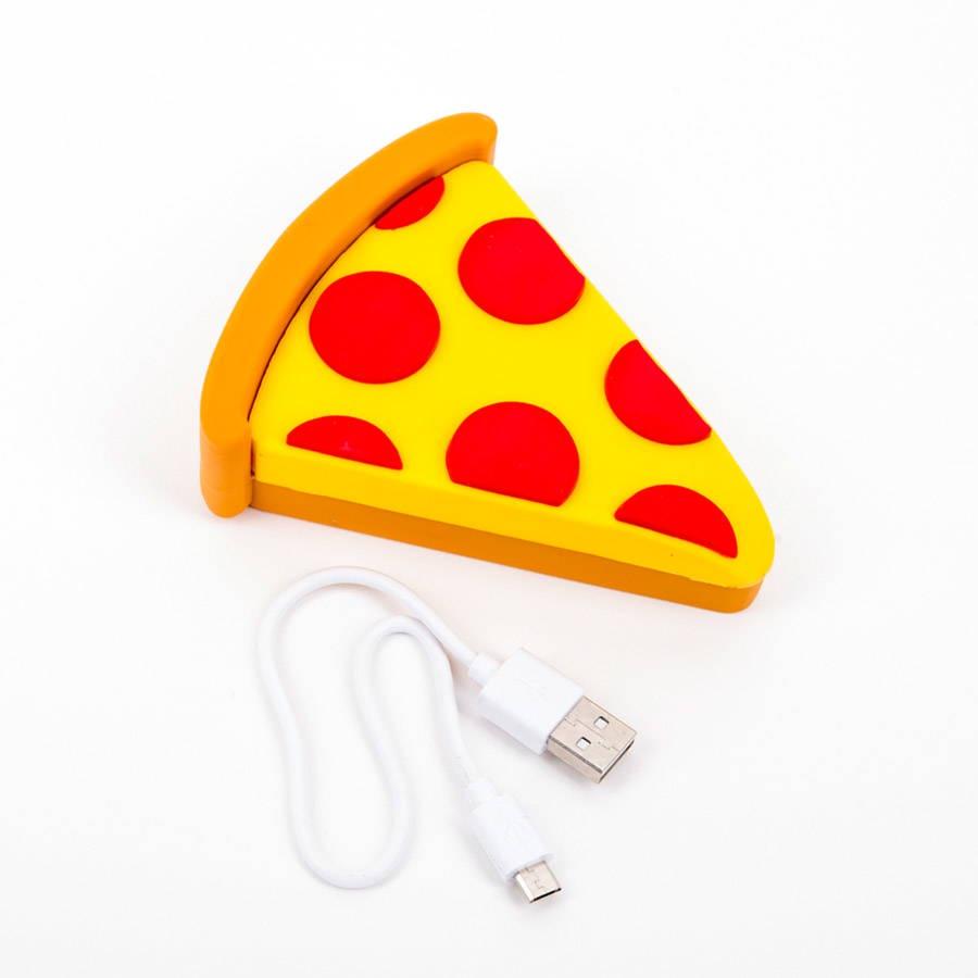 Фото - Внешний аккумулятор Perston Pizza внешний аккумулятор perston smile желтый