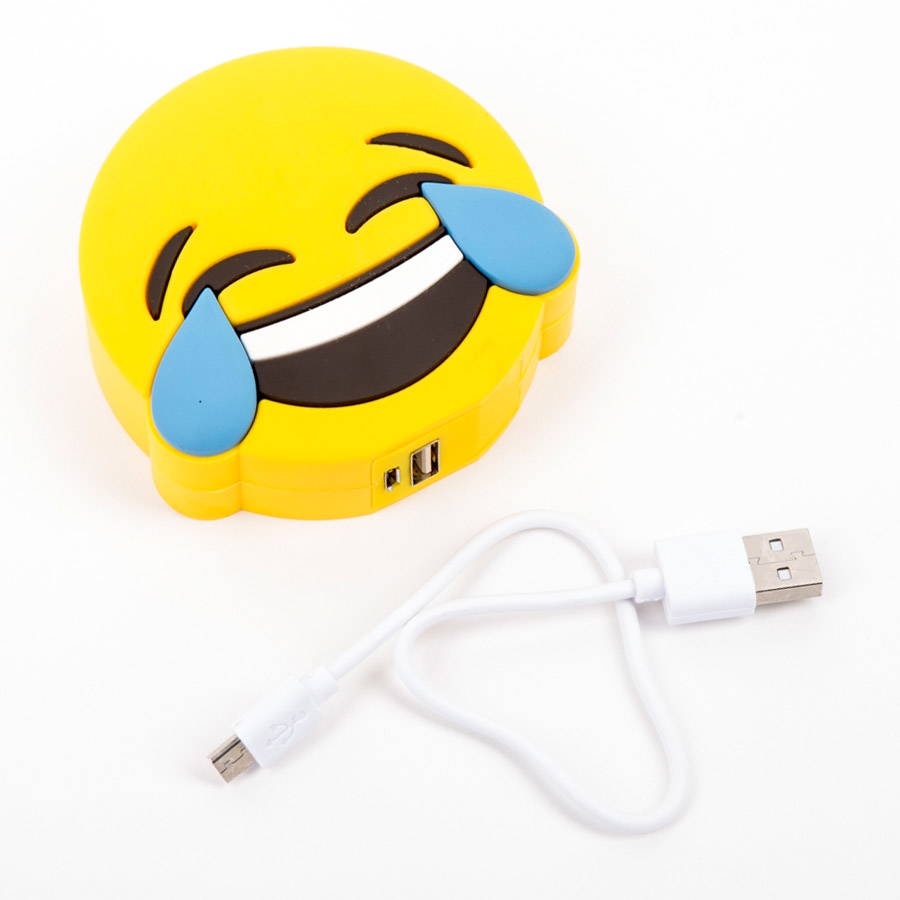 Фото - Внешний аккумулятор Perston Smile, желтый внешний аккумулятор perston unicorn 1 черный
