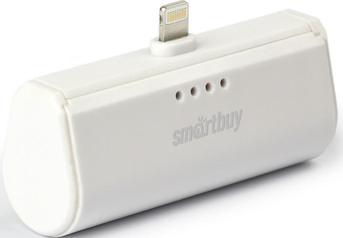 Внешний аккумулятор SmartBuy TURBO-8 SBPB-110, 2200 мАч, White аккумулятор внешний monster powercard turbo 133338 00 space grey