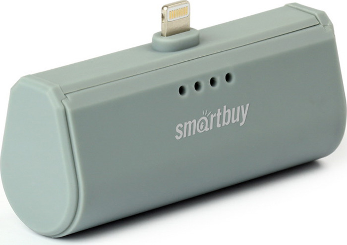 Внешний аккумулятор SmartBuy TURBO-8 SBPB-120, 2200 мАч, Gray внешний аккумулятор smartbuy turbo sbpb 230 2200 мач red