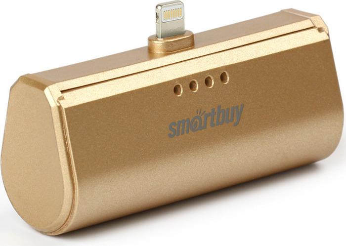 Внешний аккумулятор SmartBuy TURBO-8 SBPB-150, 2200 мАч, Gold внешний аккумулятор smartbuy turbo sbpb 230 2200 мач red