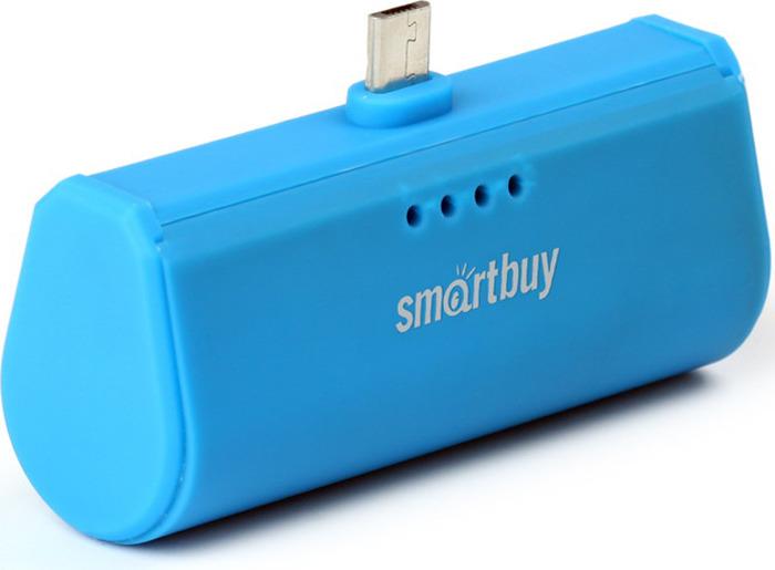 Внешний аккумулятор SmartBuy TURBO SBPB-240, 2200 мАч, Blue аккумулятор внешний apc m3sr blue