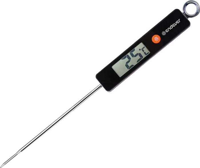 Термометр для приготовления пищи Endever Smart-04, Пластик, Нержавеющая стальSmart-04Материал: нержавеющая стальМатериал корпуса: ABS-пластикПитание: 1 CR2032 батарея (в комплекте)Габаритные размеры: 25.8*2.5*1.0Цвет: черныйОсобенности и дополнительные функции: LED-дисплейИндикация температуры в °C и °FТемпература измерения: 0°-140°C (32°-284°F)Точность: ±1°С (±2 или °F)Зонд может контактировать с пищей