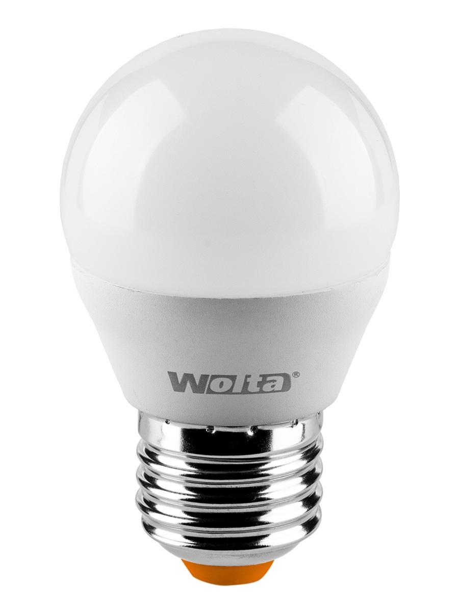 купить Лампочка Wolta 25Y45GL8E27, 8W, E27, Теплый, Теплый свет 10 Вт, Светодиодная по цене 111 рублей