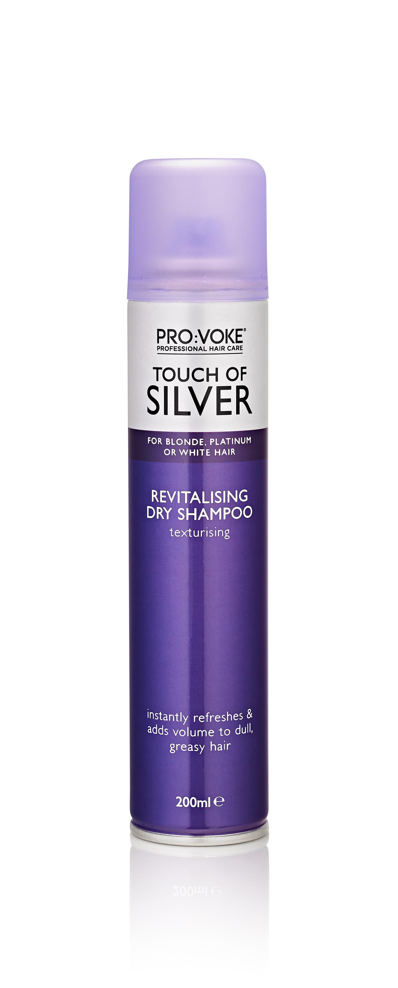 Сухой шампунь Provoke TOUCH OF SILVER, восстанавливающий, защищающий цвет волос цена и фото